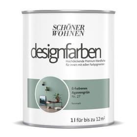 Designfarbe Agavengrün 1 l Pittura per pareti Schöner Wohnen 660993900000 Contenuto 1.0 l N. figura 1