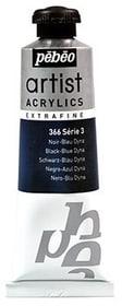 Acrylic EF 37 ml Pebeo 663572000000 Colore Noir blue dyna N. figura 1