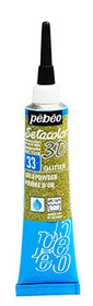 Sétacolor 3D 20ml Metal Pebeo 665469200000 Colore Color Oro N. figura 1