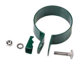 Collier de terminaison vert, 60 mm