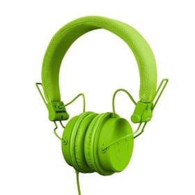 RHP-6 cuffie DJ con microfono verde