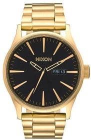 Sentry SS All Gold Black 42 mm Orologio da polso Nixon 785300136963 N. figura 1