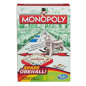 Monopoly Reisepiel (D) Hasbro Gaming 746977690000 Lengua Tedesco N. figura 1