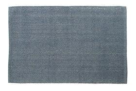 TOBIE Tapis de bain 453024651240 Couleur Bleu Dimensions L: 60.0 cm x H: 90.0 cm Photo no. 1
