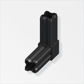Connecteur-angle 23.5 mm 90° PA noir alfer 605139000000 Photo no. 1