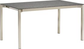 MALO Table au jardin 408013014003 Dimensions L: 140.0 cm x P: 80.0 cm x H: 75.0 cm Couleur SUPREME BLACK Photo no. 1