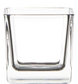 Cubic Photophore Hakbjl Glass 655710800000 Couleur Transparent Taille L: 6.0 cm x L: 6.0 cm x H: 6.0 cm Photo no. 1