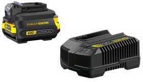V20 / 18-Li adattatore Starter Kit Batteria di ricambio e caricabatteria Stanley Fatmax 616243300000 N. figura 1