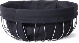 Cesto bordato con fascia in stoffa Cucina & Tavola 701776700000 N. figura 1