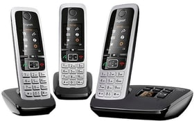 C430A Trio schwarz silber Téléphone fixe Gigaset 794055700000 Photo no. 1