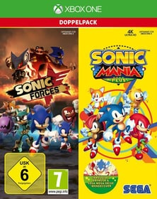 Xbox One - Sonic Mania Plus and Sonic Forces Double Pack D Box 785300139881 Photo no. 1