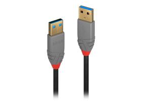 USB 3.0 Typ A Kabel, Anthra Line 0.5m Kabel LINDY 785300141554 Bild Nr. 1