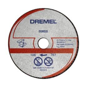 Disco ta taglio metallo e plastica DSM510 Accessori per tagliare Dremel 616087200000 N. figura 1