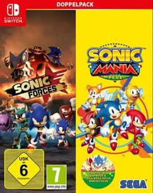 NSW - Sonic Mania Plus and Sonic Forces Double Pack D Box 785300139890 Bild Nr. 1