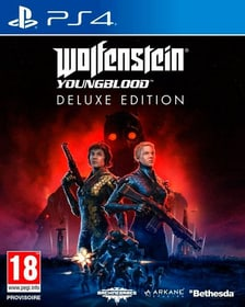 PS4 - Wolfenstein: Youngblood Deluxe Edition F Box 785300145244 N. figura 1