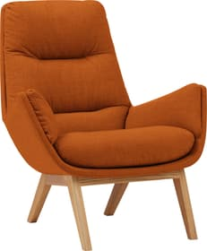 ANDRES Fauteuil 402443207056 Couleur Rouille Dimensions L: 83.0 cm x P: 94.0 cm x H: 97.0 cm Photo no. 1
