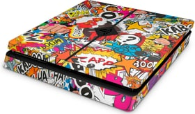 EpicSkin Stickerbomb Color PS4 Slim 785300144541 Bild Nr. 1