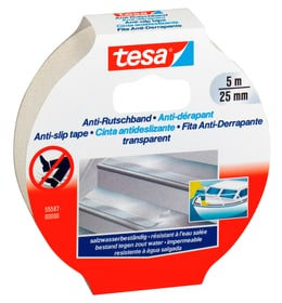 Anti-Rutschband 5m:25mm transparent Klebebänder Tesa 663082600000 Bild Nr. 1