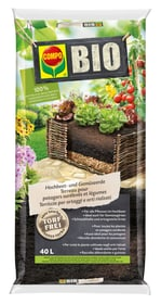 BIO Hochbeet- und Gemüseerde, 40 L Spezialerde Compo Sana 658015000000 Bild Nr. 1
