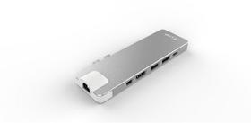 USB-C Compact Dock 4K 8Port, silber Dockingstation LMP 785300143374 Bild Nr. 1