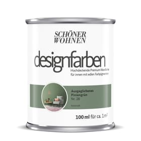 Designfarbe Piniengrün 100 ml Wandfarbe Schöner Wohnen 660991000000 Inhalt 100.0 ml Bild Nr. 1