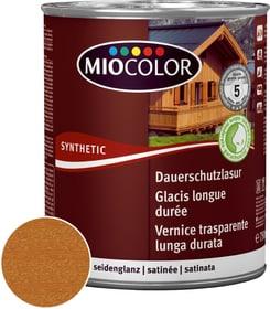Vernice trasparente lunga durata Teak 750 ml Vernice trasparente lunga durata Miocolor 661123100000 Colore Teak Contenuto 750.0 ml N. figura 1
