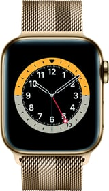 Watch Series 6 LTE 40mm Gold Stainless Steel Gold Milanese Loop Smartwatch Apple 785300155487 Bild Nr. 1