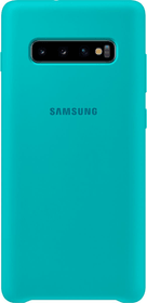 Silicone Cover Green Hülle Samsung 785300142481 Bild Nr. 1