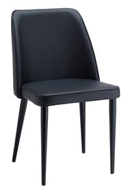 NOTTI Chaise 402344000000 Dimensions L: 49.0 cm x P: 55.0 cm x H: 86.0 cm Couleur Noir Photo no. 1