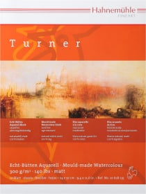Hahnemühle Turner Bloc aquarelle 24x32