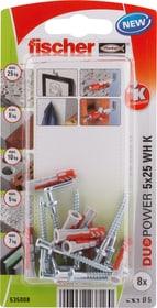 DUOPOWER 5 x 25 mit Winkelhaken Universaldübel fischer 605440400000 Bild Nr. 1