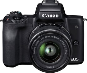 EOS M50 + 15–45mm IS STM Value Up Kit Kit appareil photo hybride Canon 79343240000018 Photo n°. 1