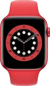 Watch Series 6 LTE 44mm Red Aluminium Red Sport Band Smartwatch Apple 785300155493 Bild Nr. 1