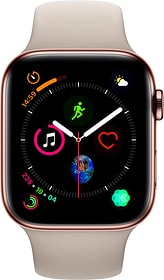 Watch Serie 4 44mm GPS+Cellular gold Stainless Steel Stone Sport Band Smartwatch Apple 79845500000018 Photo n°. 1