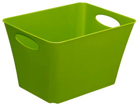 LIVING Box 24l, Kunststoff (PP) BPA-frei, oliv grün Korb Rotho 604057000000 Bild Nr. 1