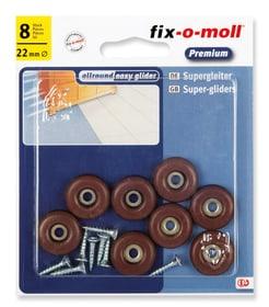 Universalgleiter mit Schraube 5 mm / Ø 22 mm 8 x Fix-O-Moll 607079300000 Bild Nr. 1