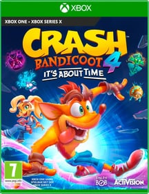 Crash Bandicoot 4 : It`s About Time Box 785300153832 Langue Allemand Plate-forme Microsoft Xbox One Photo no. 1