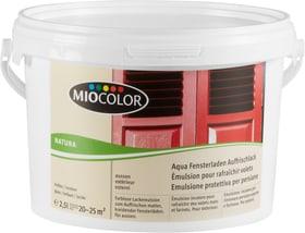 Émulsion pour rafraîchir volets Incolore 2.5 l Miocolor 661107400000 Couleur Incolore Contenu 2.5 l Photo no. 1