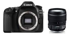 Canon EOS 80D + EF-S 15-85mm IS USM / Fr Canon 95110056094817 Bild Nr. 1