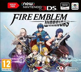 3DS - Fire Emblem Warriors Box 785300129650 N. figura 1