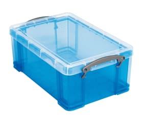 Boîtes de plastique 9L Boîte de rangement Really Useful Box 603732300000 Couleur Bleu Taille L: 15.5 cm x L: 25.5 cm x H: 39.5 cm Photo no. 1