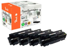 Multipack HP Nr. 410A M/Y/BK/C Cartouche de toner Peach 785300154265 Photo no. 1