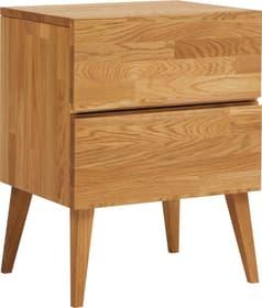CARA Table de chevet 404575985115 Dimensions L: 45.0 cm x P: 37.0 cm x H: 60.0 cm Couleur Chêne massif Photo no. 1
