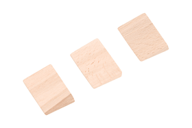 Holzkeile Classic Lux 601215400000 Bild Nr. 1