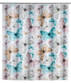 Duschvorhang Butterfly WENKO 674008600000 Bild Nr. 1