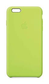 iPhone 6 Plus Silicon Case Green