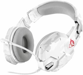 GXT 322W Gaming Headset - bianco camouflage