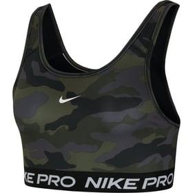 Swoosh Bra Camo Print Brassière de sport Nike 462049500420 Taille M Couleur noir Photo no. 1