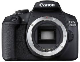 EOS 2000D schwarz Spiegelreflexkamera Body Canon 785300134591 Bild Nr. 1