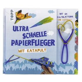 Set Papierflieger mit Katapult Bastelbuch 782491400000 N. figura 1